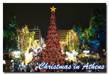 Christmas In Greece~ On Christmas Eve, people go out and sing carols in the streets (mostly boys). Christmas trees aren't very teditional in Greece they mostly have wooden bowl with a piece of wire is suspended across the rim.