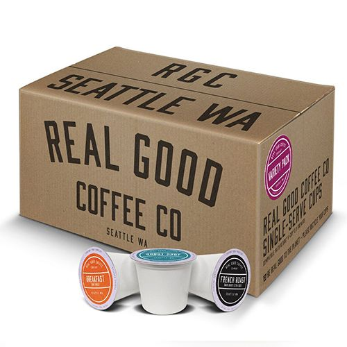 made with 100 recyclable materials this variety pack from brand real