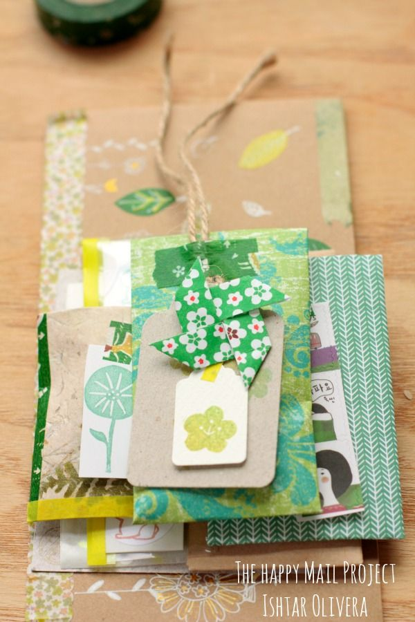 The Happy Mail Project: Happy Mail from Ishtar To Adriana ♥ #snailmail #mailart #happymail
