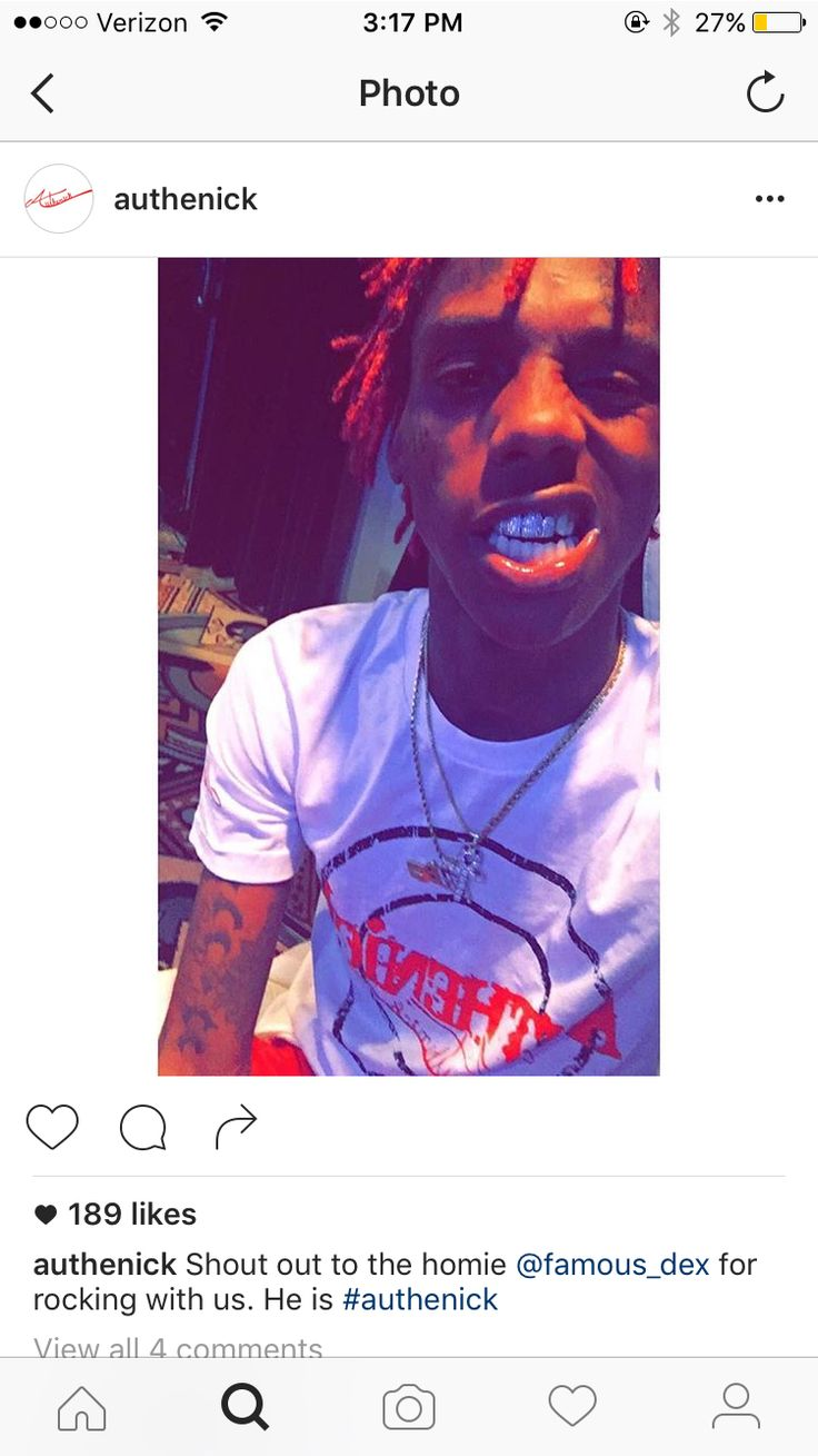 Famous Dex in Authenick Clothing