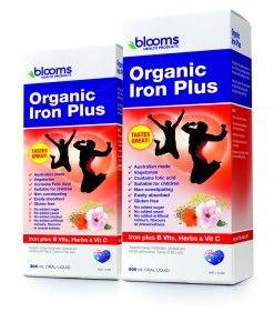 Organic Iron Plus