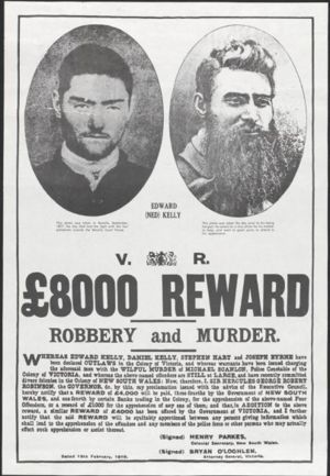 ned kelly wanted poster - Google Search