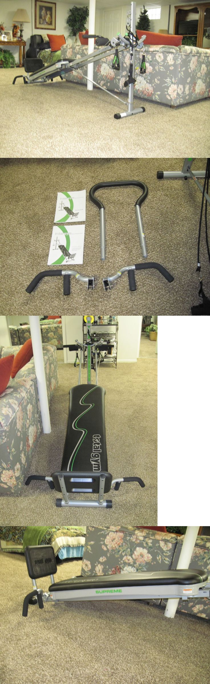 Push Up Stands 158925: Work Out Home Gym Total Gym Supreme Model -> BUY IT NOW ONLY: $250 on eBay!