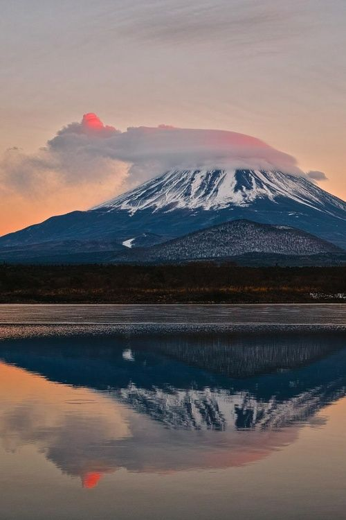 Mt. Fuji, Japan by Harumitu Jimura