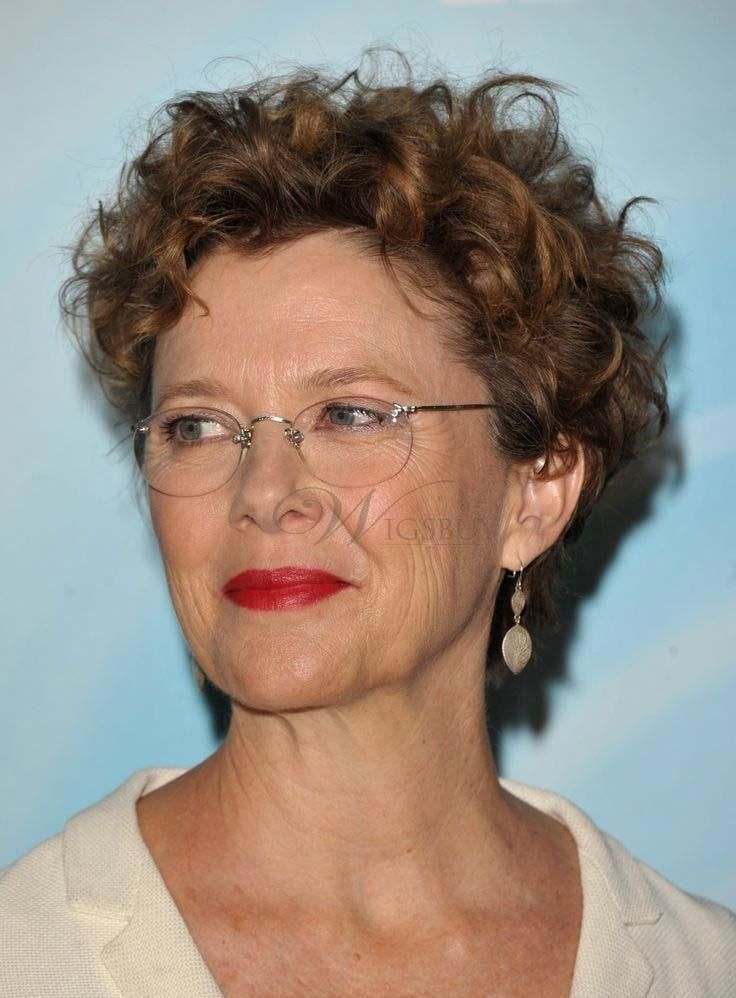 Fashionable Short Curly Full Lace Human Hair Wig