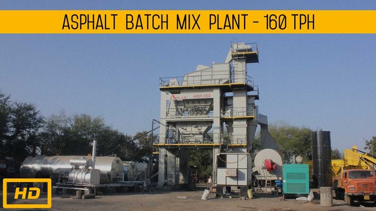 Asphalt mixing plant 160 tph working.  #AsphaltBatchMixPlant #AsphaltBatchingPlants #HotMixPlant #AsphaltMixPlant
