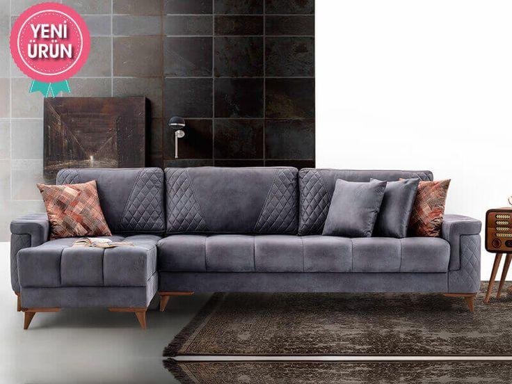 Sönmez Home | Modern Köşe Takımları | Puffy Lux Mini Köşe Takımı  #Modern #Furniture #Mobilya #Köşe #L #Koltuk #Takımı #Sönmez #Home #EnGüzelAnlara #EnzaHome #YeniSezon #KöşeTakımı #Home #HomeDesign  #Design #Decoration #Ev #Evlilik #Wedding #Çeyiz #Konfor #Rahat #Renk #Salon  #Çeyiz #Kumaş #Stil #Tasarım #Furniture #Tarz #Dekorasyon