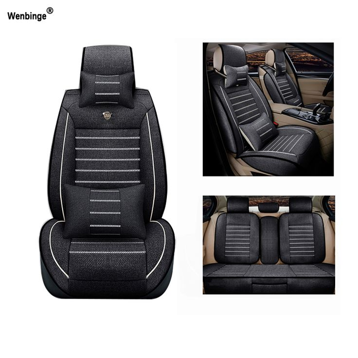 Breathable car seat covers For  Lincoln Navigator MKZ MKS MKC MKX MKT auto accessories car-styling car-stickers 3D Black #Affiliate