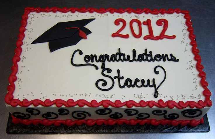 graduation sheet cake pictures | GraduationCakes
