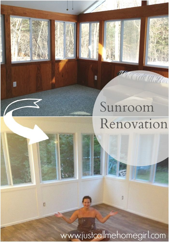 The Beginning Of Our Sunroom Renovation Sunrooms And