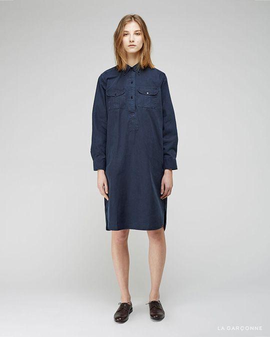 Margaret Howell / Slim Pocket Shirtdress  Jil Sander / Oxford