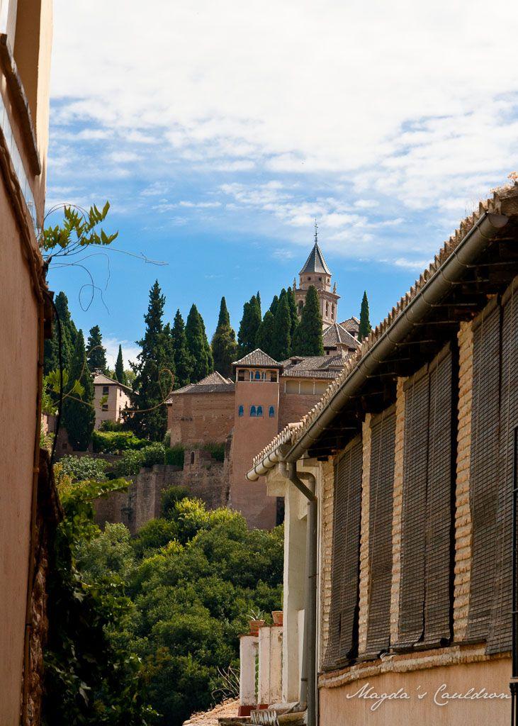 Granada view over Alhambra