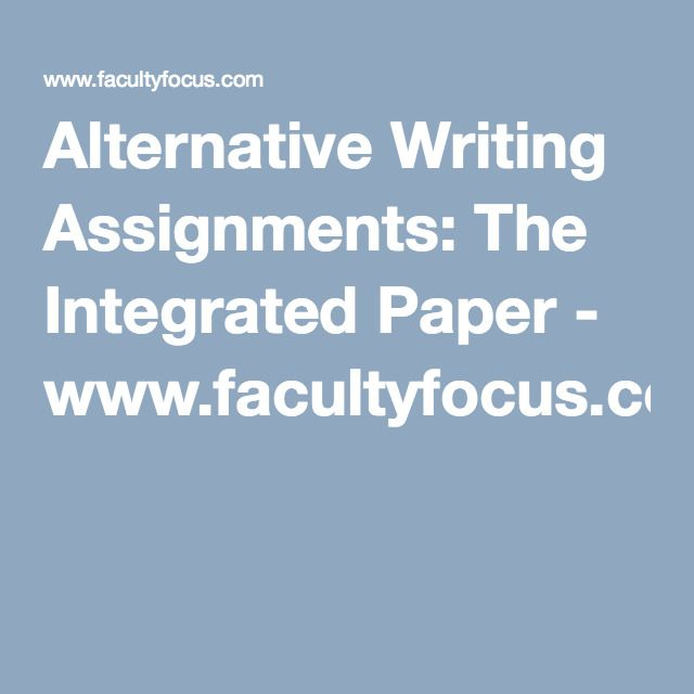 alternative essay assignment View essay - eth 321 week one assignmentdocx from ethics 321 eth/321 at university of phoenix 1 alternative dispute resolution (adr) ethics and risk management study damon brown eth/321 april 4,.