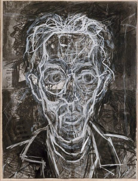 David Fairbairn: Portrait of Tao Triebels :: Dobell Prize for Drawing 1999 :: Art Gallery NSW