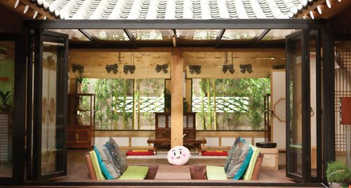 I cannot tell you why I love traditional Korean homes so much but this was the Sanggojei from Personal Preference!