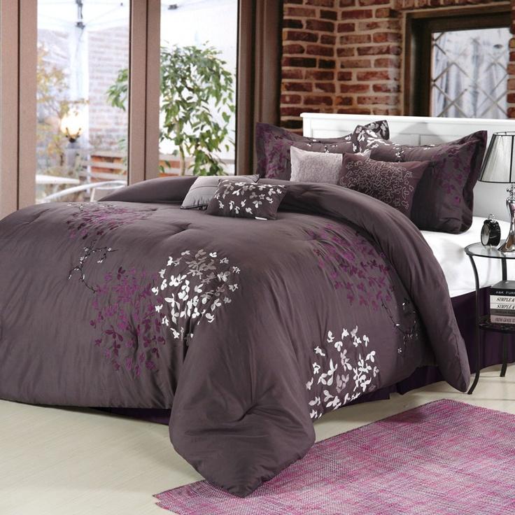 Bedroom Ideas Plum best 20+ plum comforter ideas on pinterest | plum bedroom, purple
