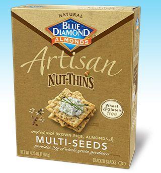 GF Blue Diamond : Artisan Nut Thins : Multi-Seed