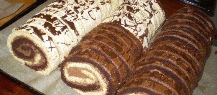 Recept: Ötletes és nagyon finom, ez a zebra tekercs