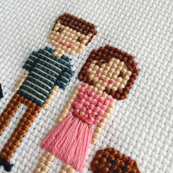 "185 Me gusta, 5 comentarios - Custom Cross Stitch Portraits (@clothandtwig) en Instagram: ""✨ -- Special discount code for Independence Day! Check back tomorrow to grab it! --…"""