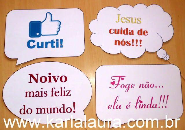 Karla Laura Convites, Lembranças e Papelaria Personalizada: Plaquinhas divertidas - Jéssica e Carlos