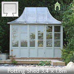 hsp classic garden buildings potting sheds 34 x 18m birstall - Garden Sheds Haydock