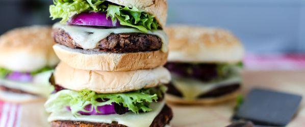 Easy Veggie Burgers Recipe - Genius Kitchensparklesparklesparklesparkle