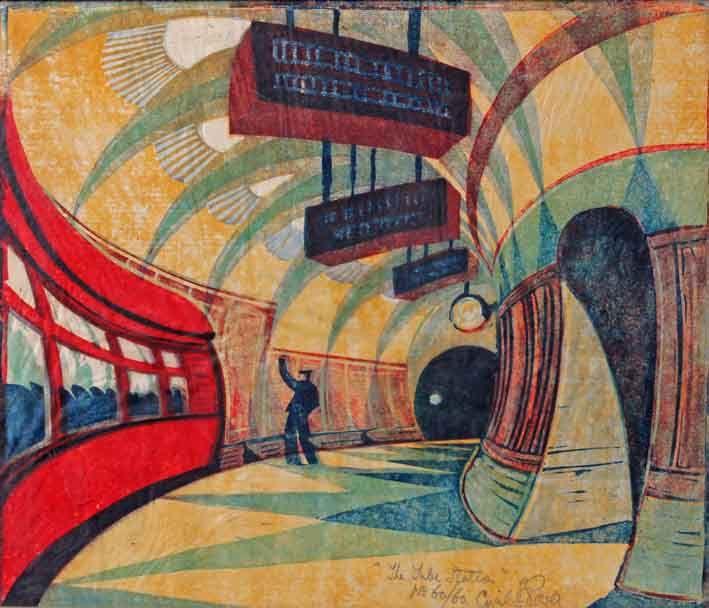 Cyril Power - Tube Station