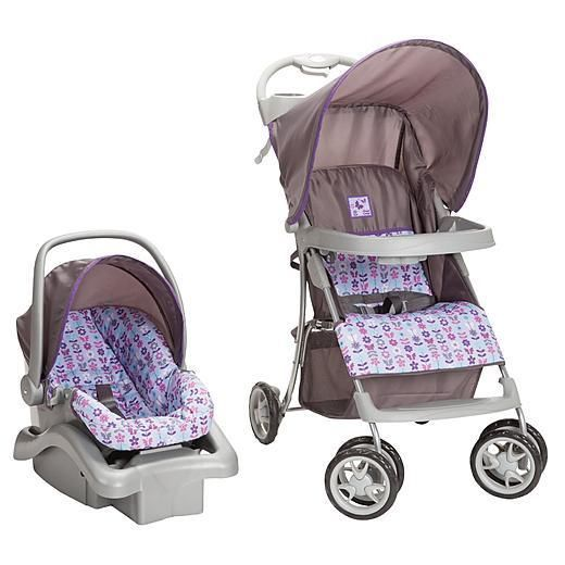 infant travel system stroller car seat baby shower purple. Black Bedroom Furniture Sets. Home Design Ideas