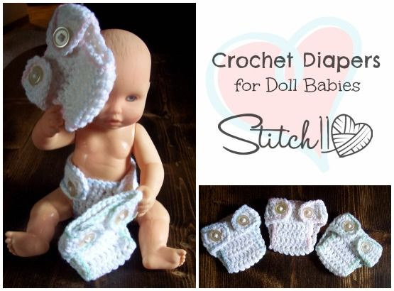 My sister asked me if I could crochet some diapers for my nieces Baby Alive Doll. After a few attempts, I finally got the shape and size perfected. I am so excited to see the look on my nieces face, especially when she sees the fake poop I painted into one of them. I hope …
