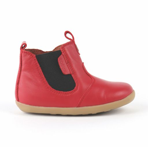 Bobux Step Up Jodphur Boot Red