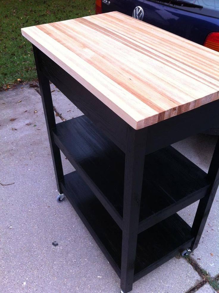 Diy Kitchen Island Table Plans