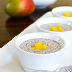 Strawberry Cheesecake Chia Seed Pudding - The Foodie and The Fix
