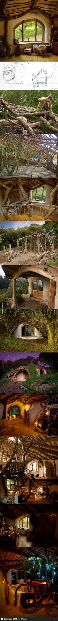 The ULTIMATE craft idea: Built your own hobbit hole!