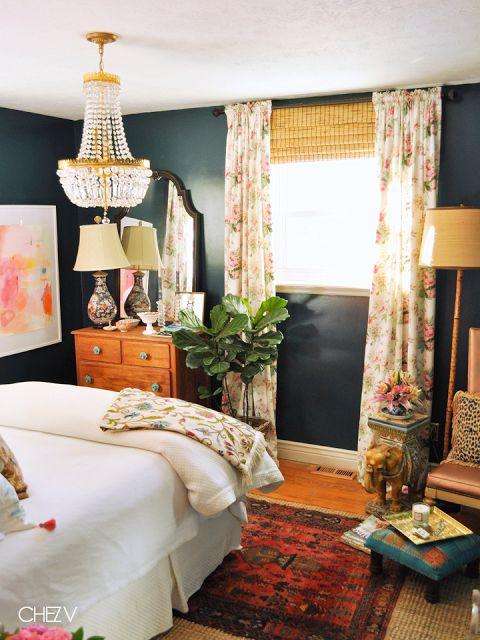 Pawleys Island Posh: House Tour: Chez V Master Bedroom
