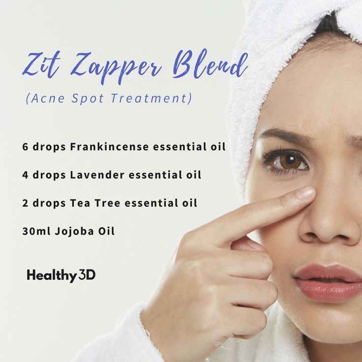 Zit Zapper Blend (Acne Spot Treatment)