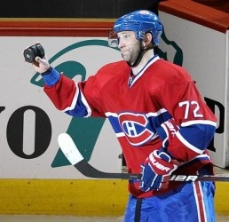 Cole scores three within the first six minutes of the game and the #Habs beat the #Sens on a rare Friday night home game. Gotta love Cole!