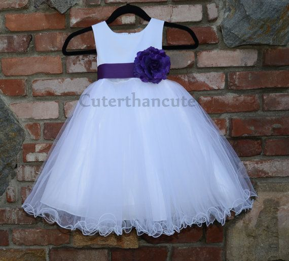 New Formal Flower Girl Dress Bridesmaid by cuterthancutedresses