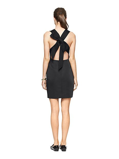 bow back dress - kate spade new york