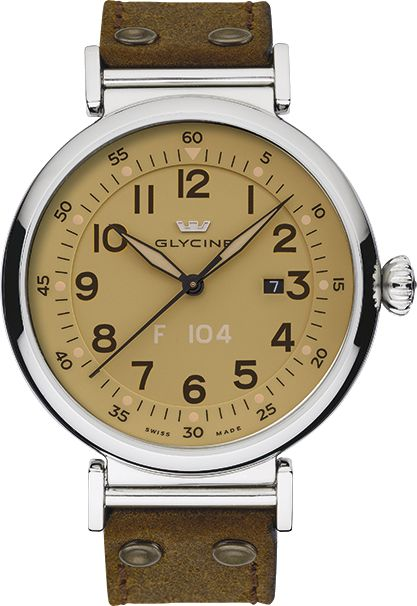 Glycine - F 104 automatic 48mm | Ref. 3932.15AT LB7R
