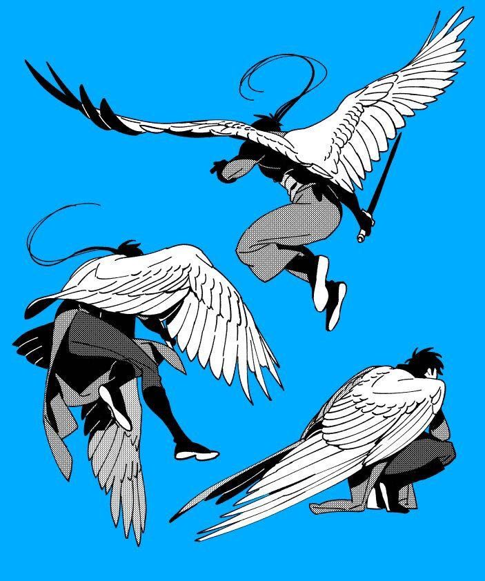 Fly Gladiator Fights Character Art Concept Art Characters Wings Art