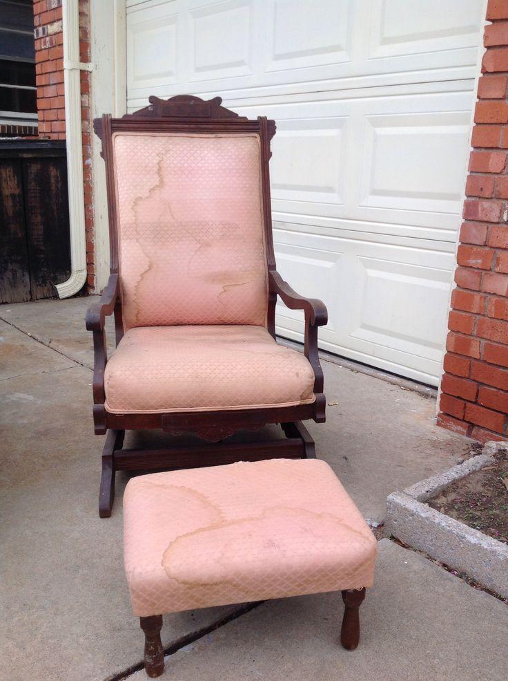 Eastlake Rocking Chair In Blackjacks Yard Sale Oklahoma City OK For 125