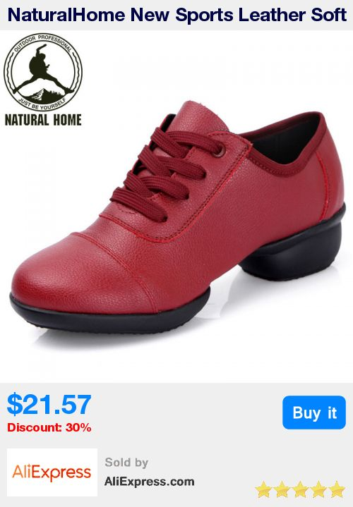 NaturalHome New Sports Leather Soft Outsole Breath Dance Shoes Sneakers for Woman Practice Shoes Modern Dance Jazz Shoes * Pub Date: 01:14 Apr 14 2017