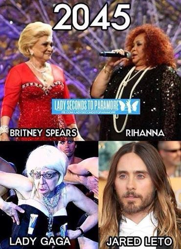 Jared Leto - whoever made that, you are a genius, lol