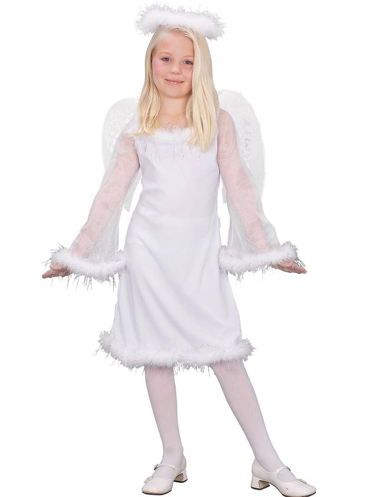 Heaven Sent Childrens Costume | Cheap Angel Costumes for Girls