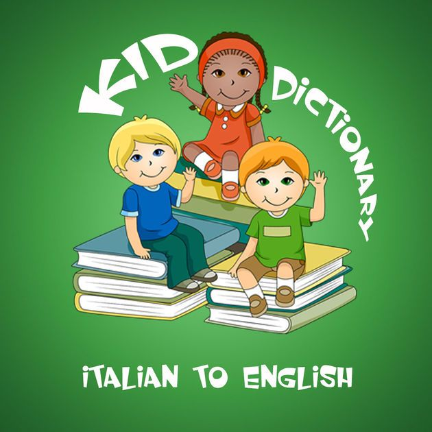 #NEW #iOS #APP KID Dictionary Italian to English - Dinh Vu Phan