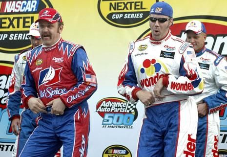 ricky bobby -Talledega Nights  Shake and Bake!