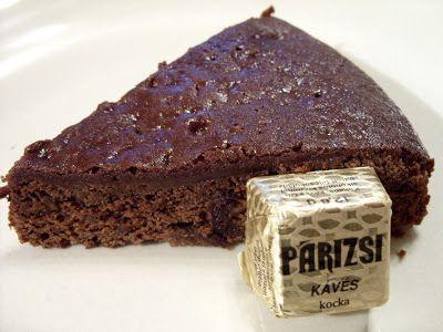 Csiperke blogja: Párizsi csokoládétorta