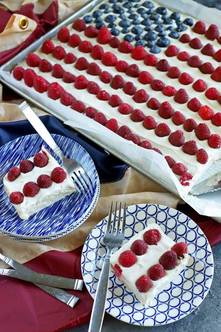 Vous vous sentez super patriotique ce 4 juillet? Essayez de faire ce cookie facile drapeau des États-Unis c …   – Foodal's Recipes