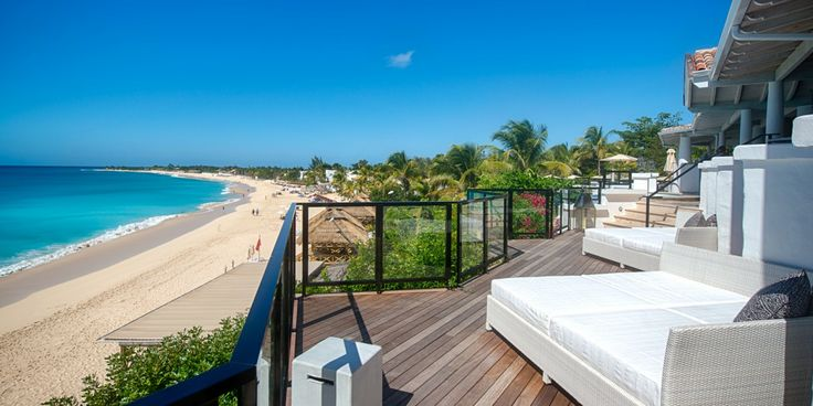 St Martin's Belmond La Samanna is known for its sweeping views of the Caribbean.