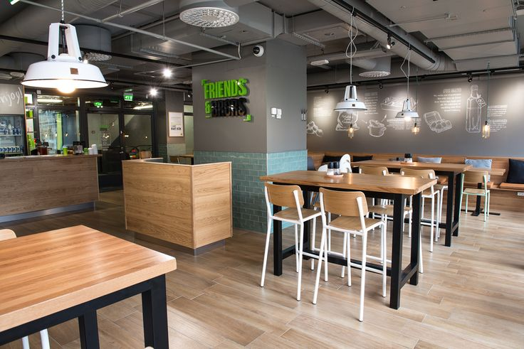 Friends & Brgrs - Fast Casual restaurant in Helsinki, Finland. We simply want to make great burgers :) #friendsandbrgrs #restaurant #interior #finland